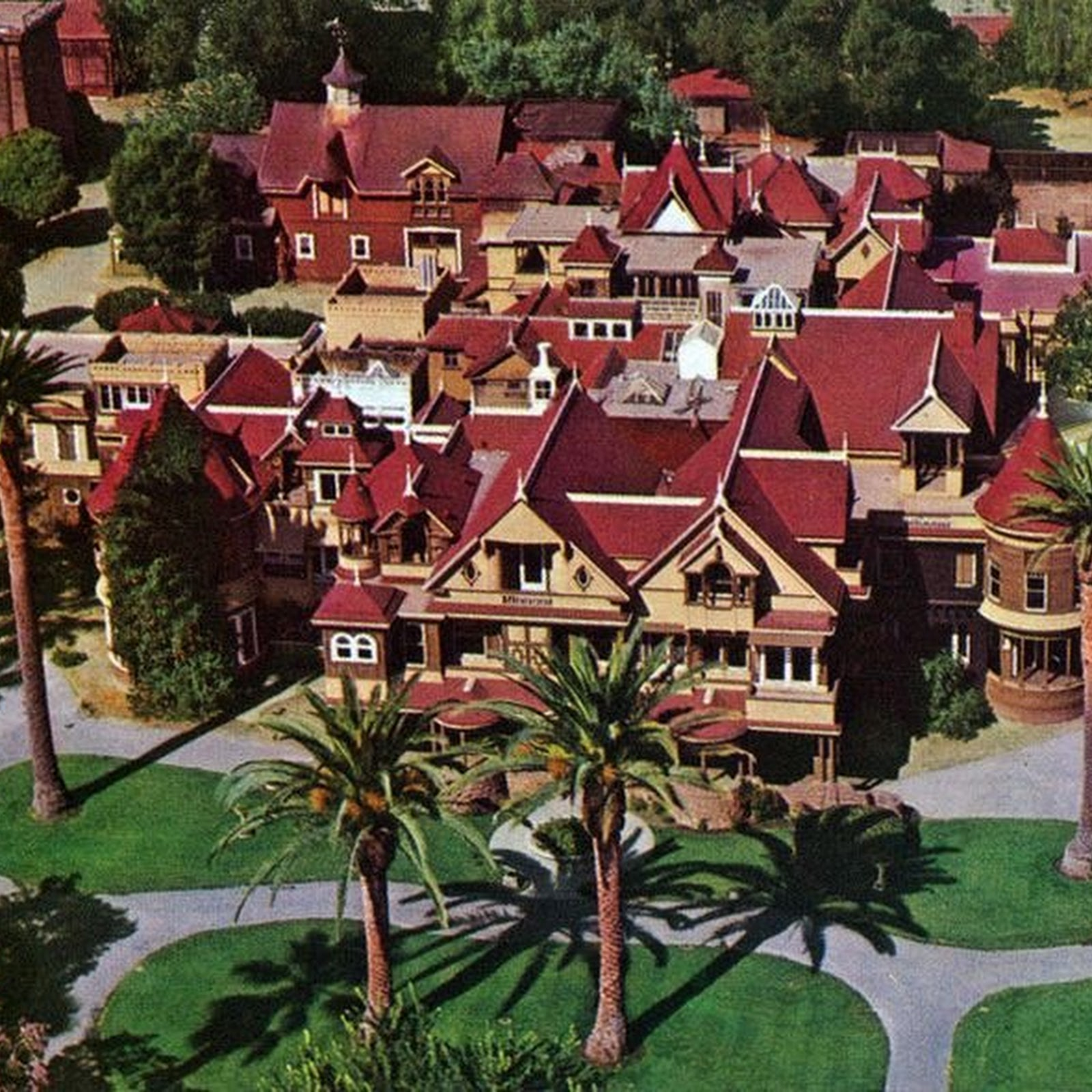 Winchester Mystery House The House That Sarah Couldnt Stop