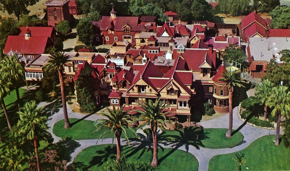 Winchester Mystery House The House That Sarah Couldn T Stop Building Amusing Planet