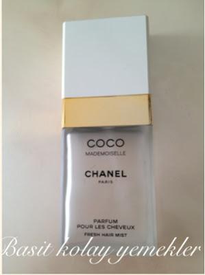 coco saç parfümü