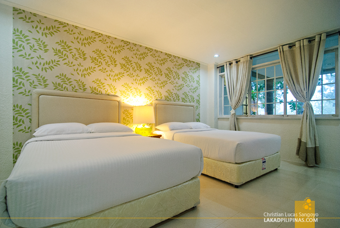 Deluxe Bed at Dumaguete's Sta. Monica Beach Club