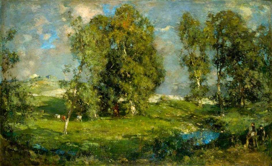 Edward Arthur Walton - Shadowed Pastures