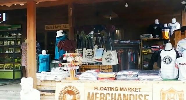 merchandise floating market bandung