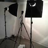 studio prepping in Toronto, Ontario, Canada