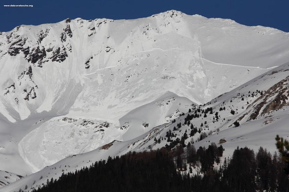 Avalanche Haute Maurienne, secteur Termignon, Signal du Petit Mont Cenis ; l'Erellaz - Photo 1