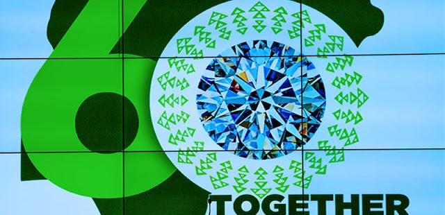 Buhari unveils 'Nigeria at 60' logo