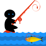 Kids Fishing Game Icon
