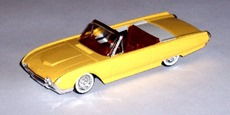 4504 Ford T-Bird cabriolet 1961