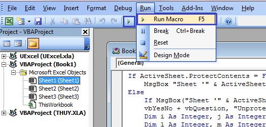 Cách phá mật khẩu trong Microsoft Excel đơn giản 3