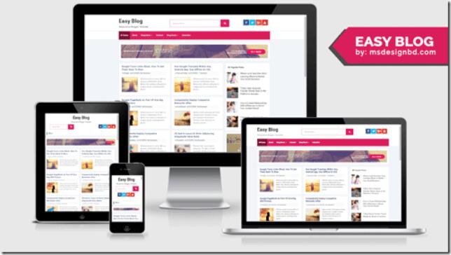 Easy-blog-free-blogger-template