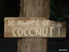 wenn man das Schild liest, weiß man das man im Urlaub ist ; )