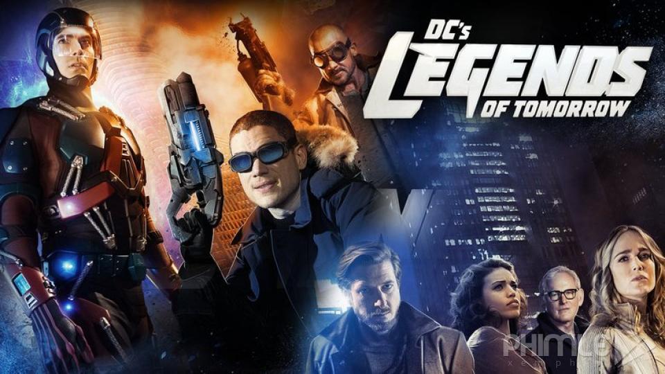 Những Huyền Thoại Của Tương Lai Phần 1 - Legends Of Tomorrow Season 1