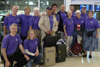 November 2010 Group at the Airport