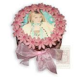 2. kép: Fényképes torták - Hanna Montana virágos torta