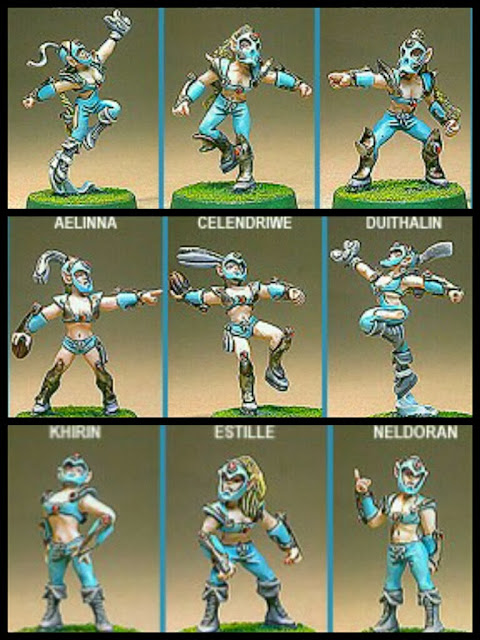 Shadowforge lineas silvanos Blood Bowl