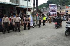 Polres Anambas Bersama TNI dan Satpol PP Laksanakan Operasi Yustisi