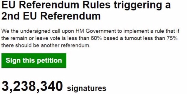 Coulda Shoulda Woulda The Newly Burgeoned British Tribes - creating signers form for petition