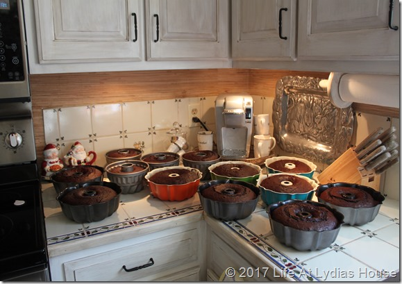 mass cake baking
