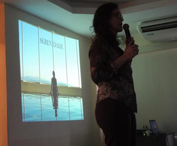 Pre-congresso - Workshop da Memoria, no Forte de Copacabana Dra. Tania Guerreiro