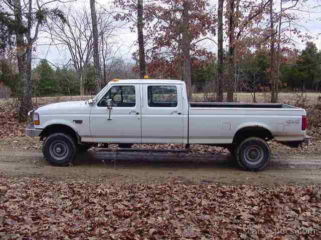 1996 ford f 350 crew cab specifications pictures prices. Black Bedroom Furniture Sets. Home Design Ideas