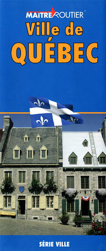 Quebec City Map - Books Canada