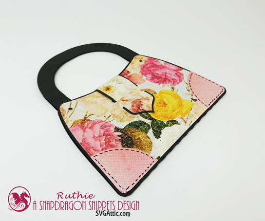 Parisian Purse Gift Card Holder, SnapDragon Snippets, Ruthie Lopez 5