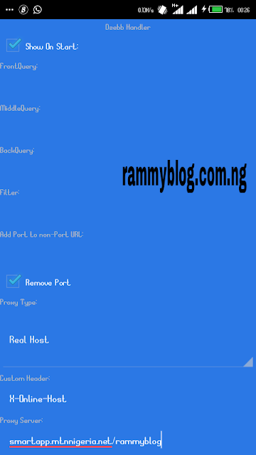 SyphonShield Settings For MTN Free Browsing Cheat 2018 - RammyBlog