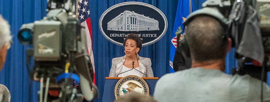AG Lynch alludes to Trump's alleged anti-Muslim speech