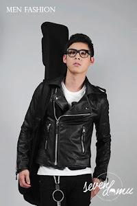 seven domu korean style biker jacket sk19 5