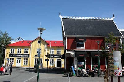 Shops in in Reykjavik Iceland