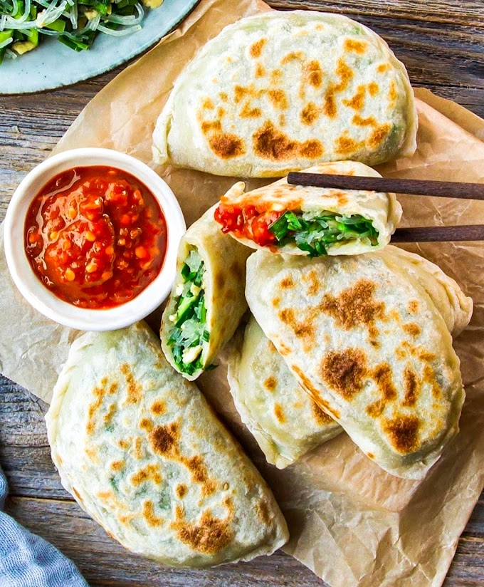 Chinese Chive Pockets Recipe | Breakfast Care