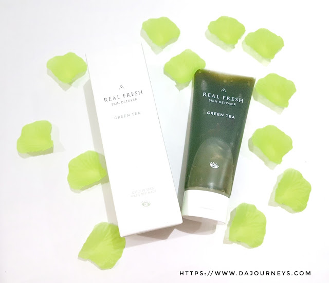 Review Real Fresh Skin Detoxers Green Tea