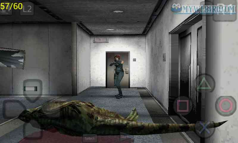 Dino Crisis 1 PS1 Gameplay