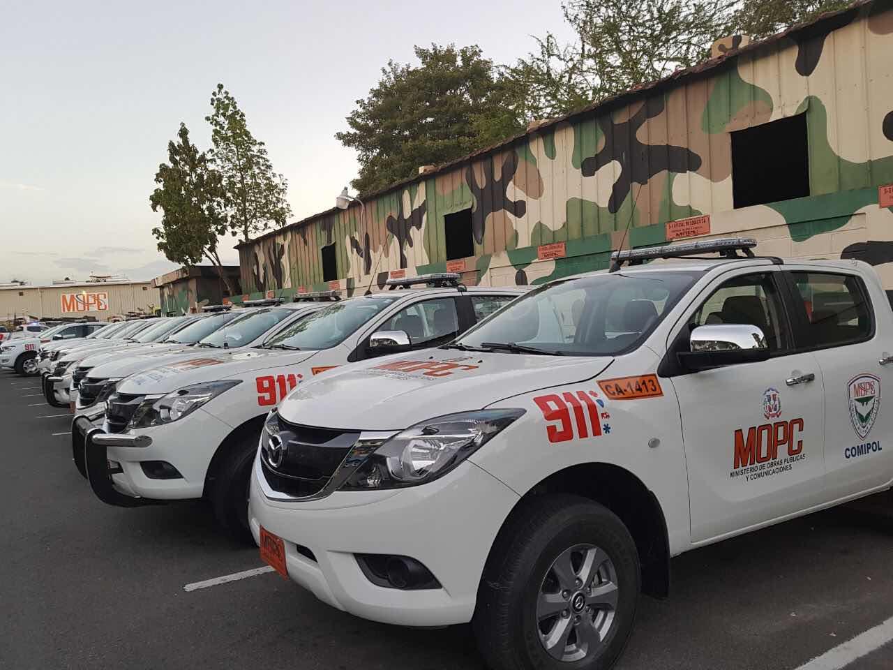 MOPC dispone reforzamiento patrullas de carreteras con 462 unidades y 3 mil 200 efectivos militares y policías y más de 4 mil hombres de mantenimiento de carreteras