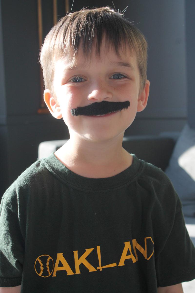 Oakland A s mustache mondays