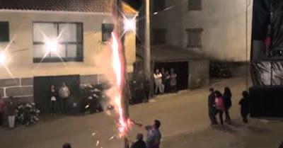 Vídeo de queima de gato vivo na festa de Mourão, Vila Flor gera revolta