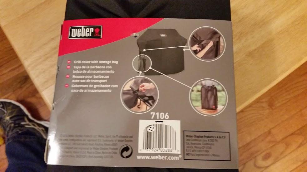 weber genesis grill cover warranty