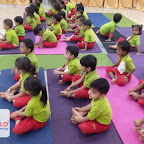 Yoga Day Celebrated by Nursery Afternoon Section at Witty World, Chikoowadi