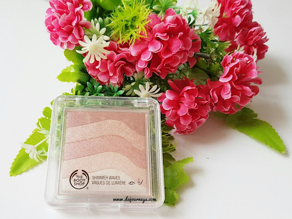[Review] The Body Shop Shimmer Waves 02 Rose