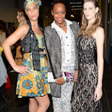 WWW.ENTSIMAGES.COM -    Melissa Tongue, Annaliese Dayes and Candice Xanthea Mitchell   at   Fashions Finest Awards 2013 at City of Westminster College London November 3rd 2013                                                   Photo Mobis Photos/OIC 0203 174 1069