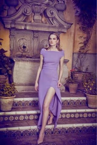 Vestido lila Dolores Promesas