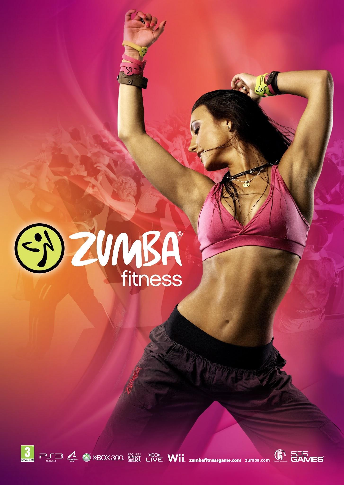 Zumba Fitness Banner Zumba Fitness Free Launch