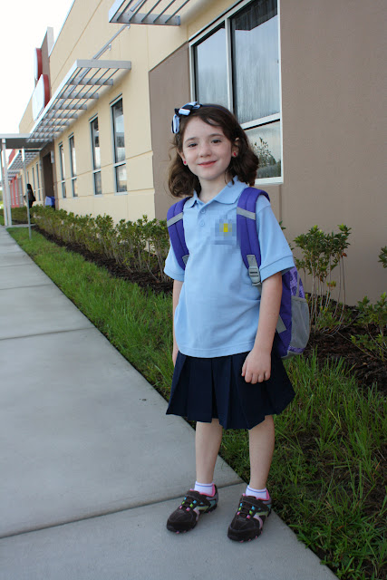 1Emma2ndGrade Back to School and Brighter Than the Sun