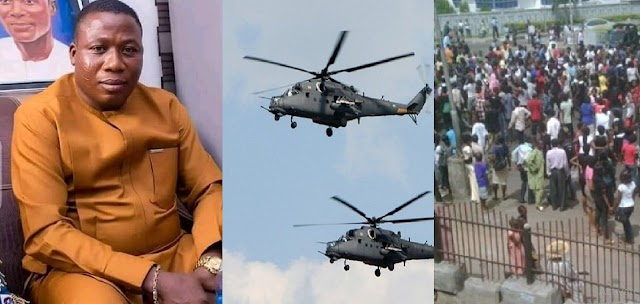 Standby Helicopter Was Set To Bring Igboho To Nigeria, But Yoruba Indigenes Fought Against It
