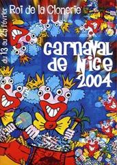 Carnaval de Nice affiche 2004