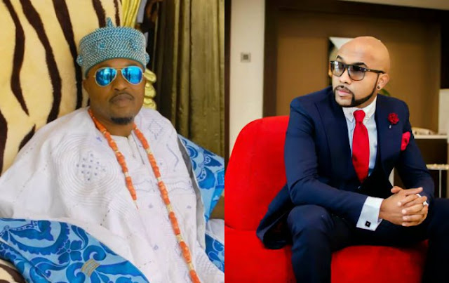 """Let Your Pains, Sorrow Afflict Me Instead"", Oluwo Of Iwo Prays For Banky W"