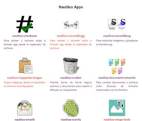 Supervitaminar tu gestor de archivos con veinte extensiones para Nautilus. La página.
