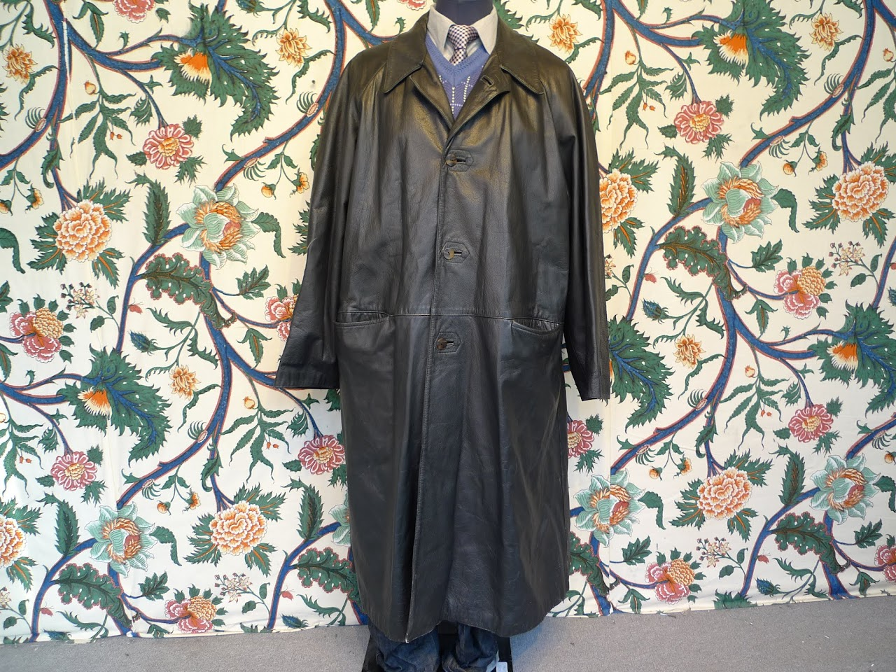 Jean Paul Gaultier Leather Trench Coat