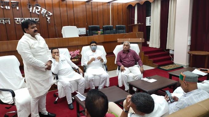 शाहाबाद में टुरिज्म डवलपमेंट के लिए पहली बार एकजुट दिखे जनप्रतिनिधि, सभी दलों के नेताओं ने ली विकास की शपथ