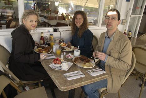 Frühstück im The Front  Porch Cafe