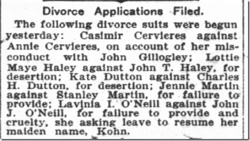 Charlotte Melvy John Haley Divorce